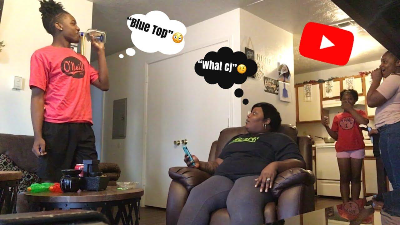 Sex prank on mom - YouTube