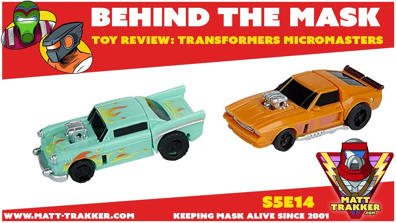 Toy Review: Transformers Micromasters - S5E14