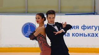 Елизавета Худайбердиева Егор Базин Ритм танец Танцы Кубок России по фигурному катанию