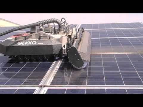 Robotic Solar Panel Cleaning System Doovi