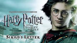 25. Sirius's Letter - HP & Goblet of Fire Recording Sessions