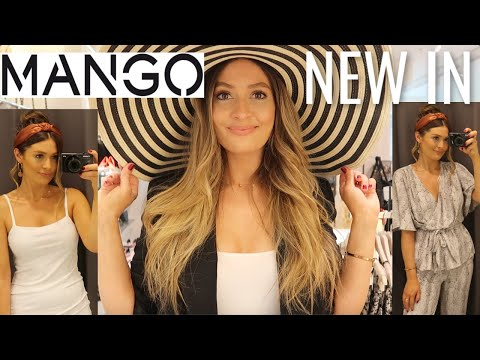 NEW IN MANGO | COME SHOPPING WITH ME LONDON | SPRING SUMMER TRY ON HAUL