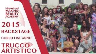 Corso Annuale di Trucco Artistico 2015 - Backstage day 1