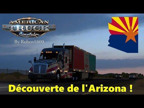 American Truck Simulator | Découverte de l'Arizona ! [FR]