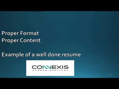 How to create a great resume-Medical Sales Rep - YouTube