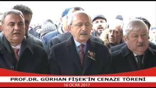 PROF.DR.GURHAN FISEK'IN CENAZE TORENI 16/01/2017