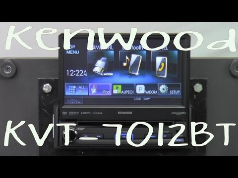Kenwood KVT-7012BT - Out Of The Box