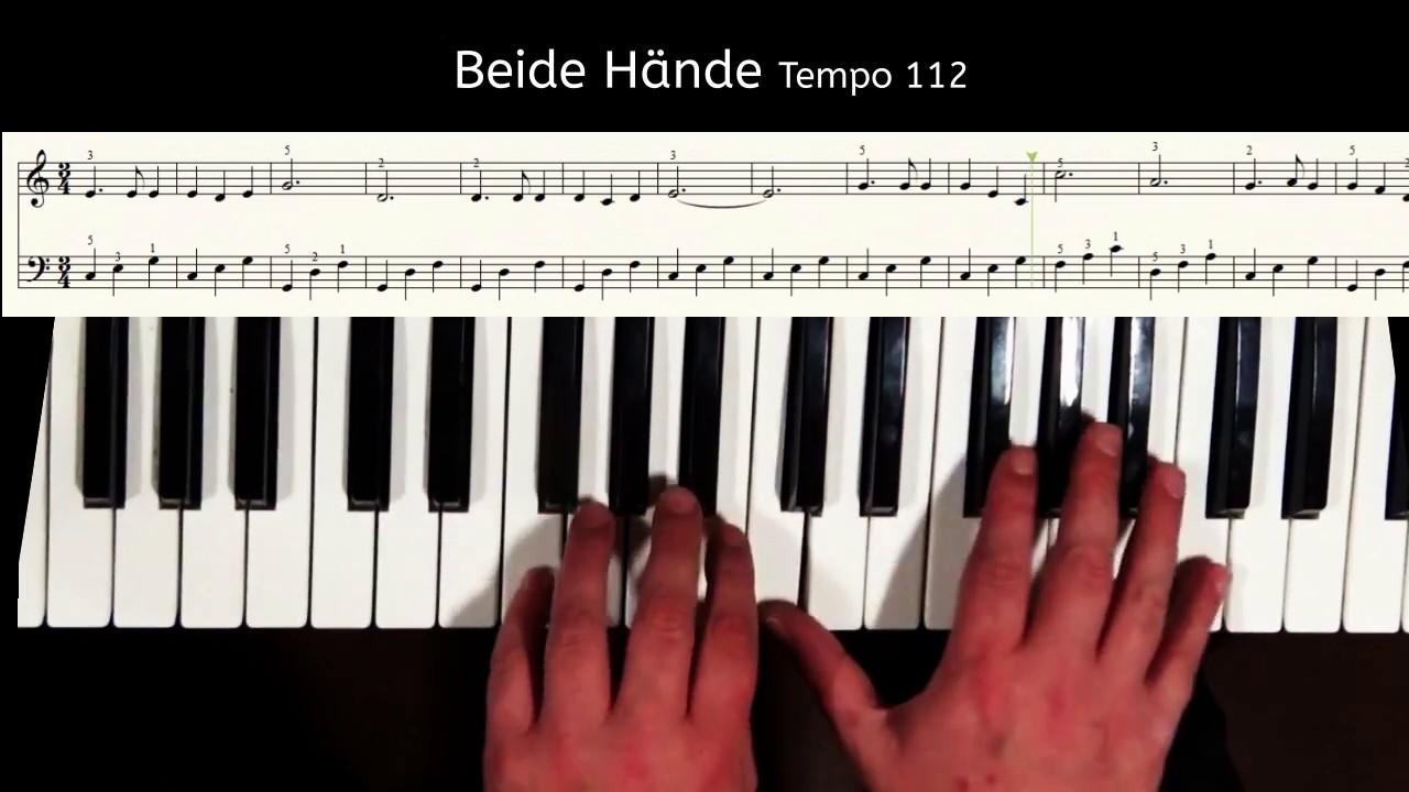 Piano Tutorial - Süßer die Glocken nie klingen, Weihnachtslied - PDF ...