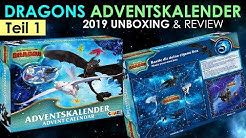 Dragons 3 Adventskalender 2019 - Unboxing & Review Teil 1 !!! Neuheit !!!