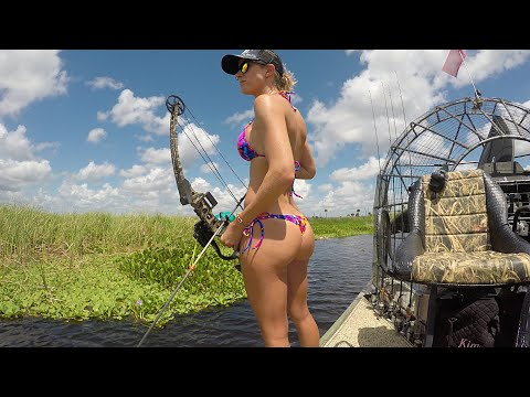 Bodhi - Woman Spends Her Birthday Bowfishing In A Bikini (Video)