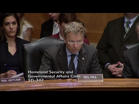 Rand Paul Shames Homeland Security on Spying on Americans