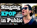 singing kpop in public when youre too into k pop in nyc