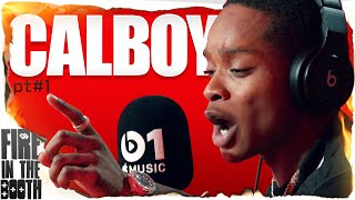 Calboy - Fire In The Booth