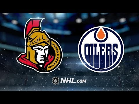 Ottawa Senators Vs. Edmonton Oilers | NHL Game Recap | October 14, 2017 | HD