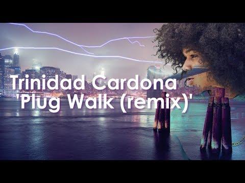 Trinidad Cardona - Plug Walk REMIX (LYRICs VIDEO) //FALLER