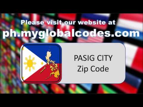 PASIG CITY ZIP CODE