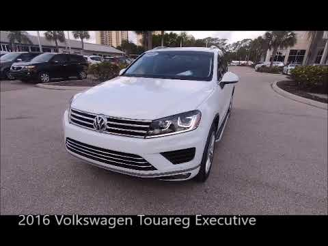 Used 2016 Volkswagen Touareg Executive Near Fort Myers and Estero