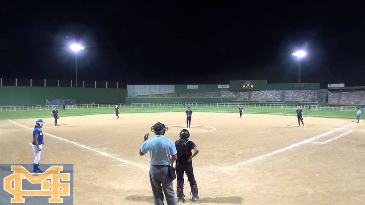 Softball team organizes play to intentionally hit umpire in face