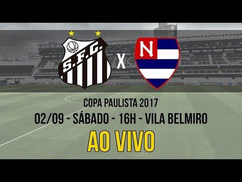 Santos B 1 x 1 Nacional | AO VIVO | Copa Paulista (02/09/17)