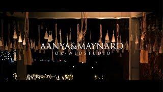 AANYA&MAYNARD Индия, Гоа. Красивая свадьба на вершине горы