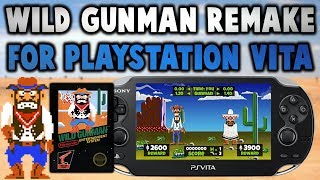 NES Wild Gunman HD Remake For PS Vita!