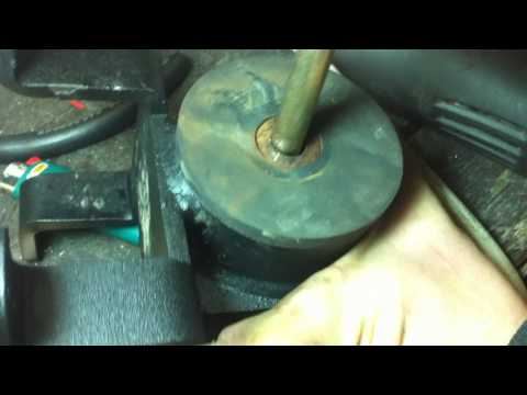 Rear engine mount failure