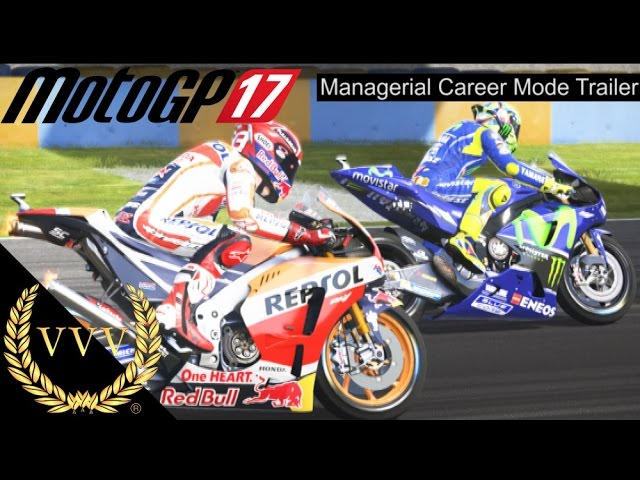 MotoGP 17 Managerial Career Mode Trailer