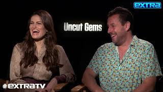 Adam Sandler & Idina Menzel Say This Scene in 'Uncut Gems' Was Spontaneous