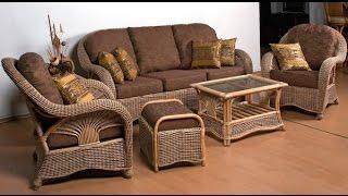 Плетеная мебель своими руками. Плетеная мебель из лозы.