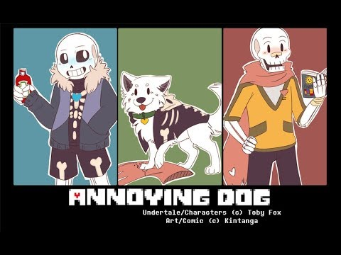 °ANNOYING DOG UNDERTALE COMIC° [Comicdub Latino] [Parte 1/?]