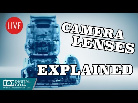 LIVE: Camera Lenses Explained | All about Lenses for Beginners