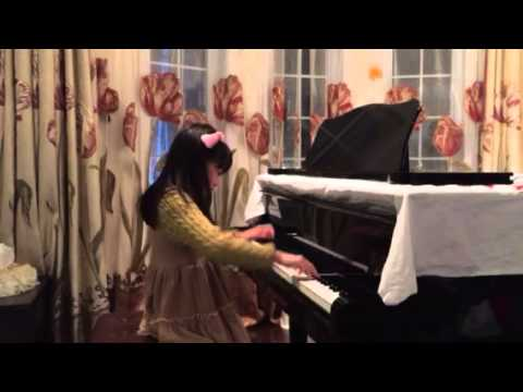 Diane Liu (7 years) - Dance of the Marionettes - Mario Tarenghi