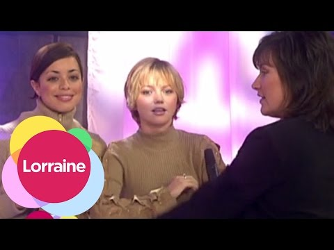 Hannah Spearritt Talks S Club 7  Lorraine