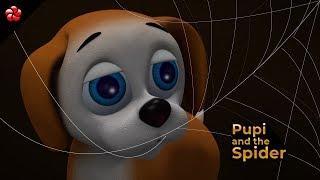 പൂപ്പിയും ചിലന്തിയും ★ Pupi & spider ★ Malayalam kid's story