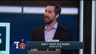 2018 Fantasy Baseball Busts Dont chase
