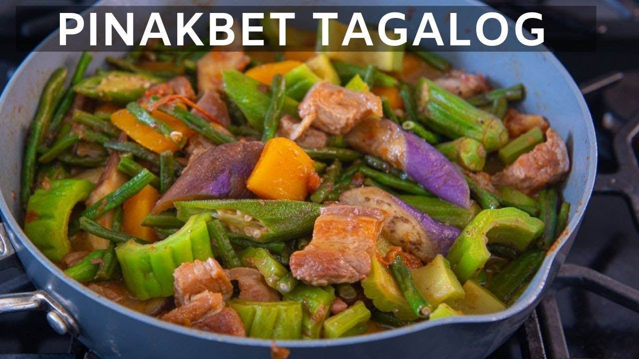 How To Cook Pinakbet Tagalog Youtube