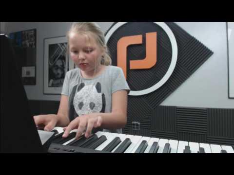 Crocodile Rock piano cover by Olivia Allen