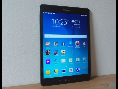 Samsung Galaxy Tab A 9.7 tablet teszt