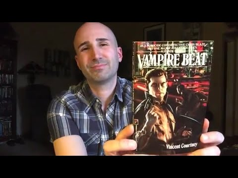 Vampire Beat (1991, Pinnacle) by Vincent Courtney | Paperback Horror Novel Review