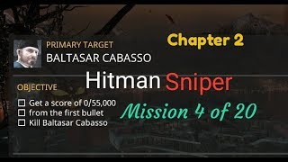 Hitman Sniper mission 4 of 20 Chapter 2 Android games Re-Play