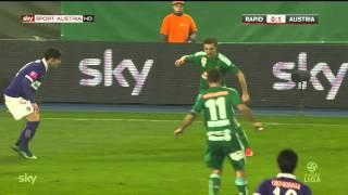 SK Rapid Wien - FK Austria Wien HIGHLIGHTS (25.10.2015)