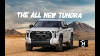 The All New 2022 Toyota Tundra Reveal!!!!