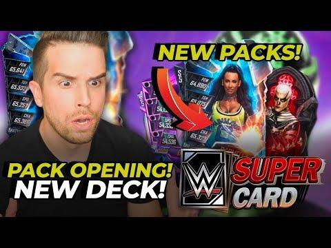 NEON NEXUS PACK OPENINGS!! MY NEW DECK IS LIT!! | WWE SuperCard