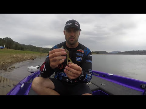 Bass Fishing With Chatterbaits On Lake Glenbawn - Dean Silvester