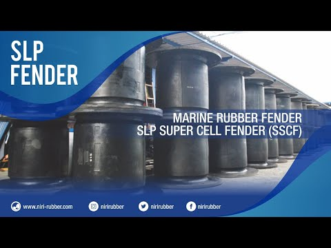 Marine Rubber Fender - SLP Super Cell Fender (SSCF)
