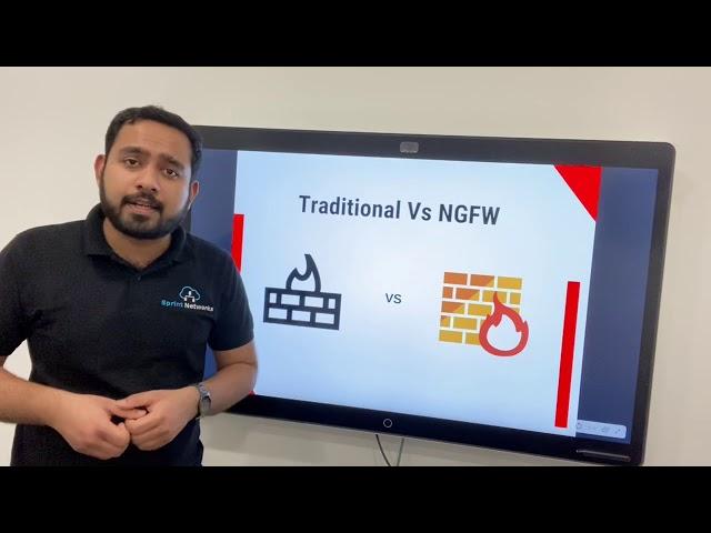 Traditional vs Next Generation Firewall