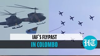 Watch: IAF participates in Sri Lanka Air Force's 70th anniversary celebrations