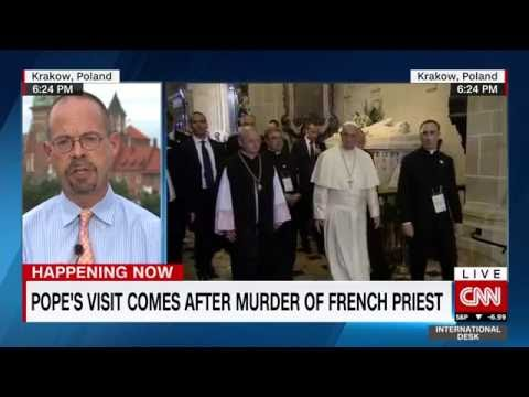 """Pope says """"World is at War"""" after priest was murdered by ISIS """"soldiers"""" in France"""