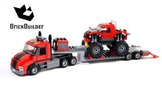 Kijk Lego City 60027 Monster Truck Transport filmpje