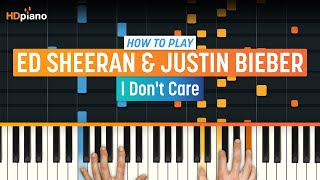 """How To Play """"I Don't Care"""" by Ed Sheeran & Justin Bieber 